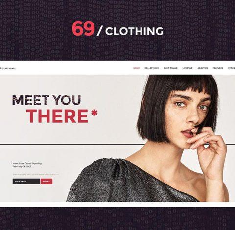 دانلود قالب وردپرس Clothing 69 اورجینال و ریسپانسیو