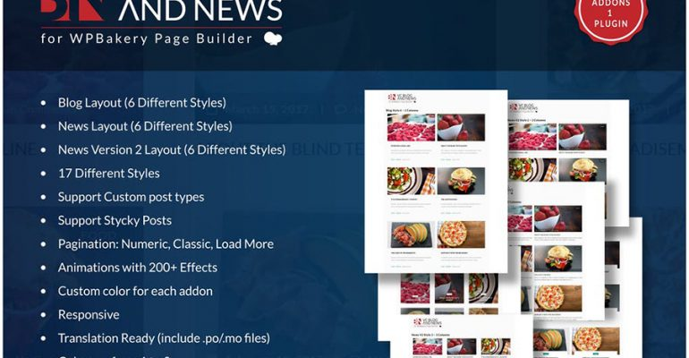 Blog and News Addons