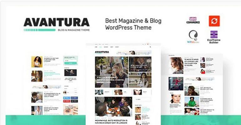 Avantura - Magazine & Blog WordPress Theme