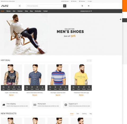 Avaz - Fashion WooCommerce Wordpress Theme