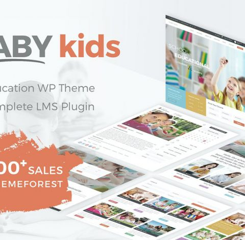 Baby Kids - School WordPress Theme