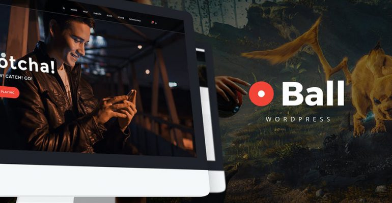 Ball- eSports - Gaming WordPress Theme
