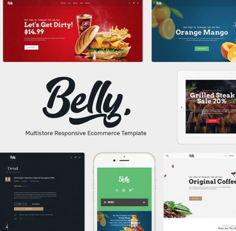 Belly - Multipurpose Theme WooCommerce WordPress