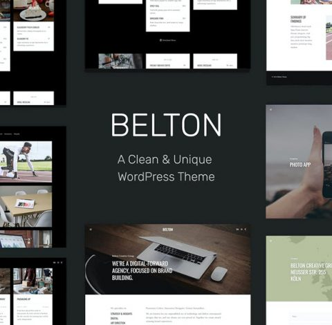 Belton – Minimal Multipurpose WordPress Theme