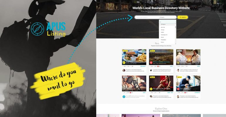ApusListing - Directory & Listing WordPress Theme
