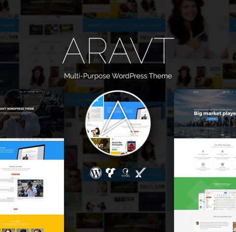Aravt - Creative MultiPurpose WordPress Theme